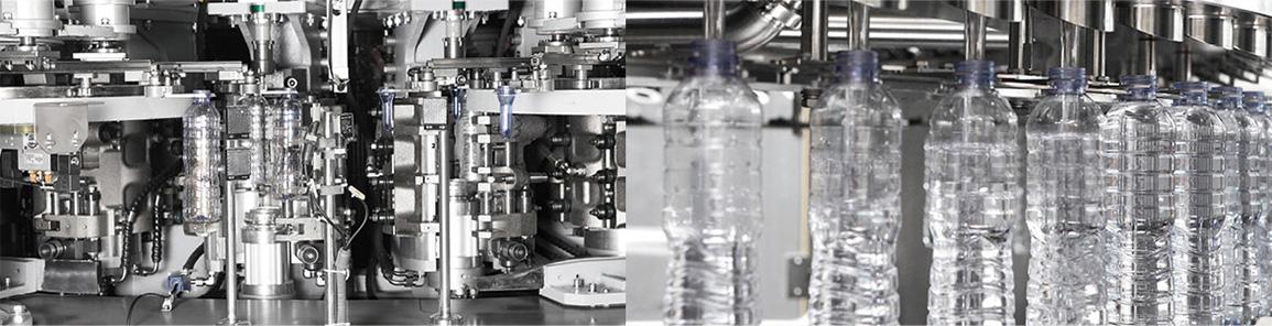Mineral Water & Milk & Juice Filling BFC Monobloc Machine